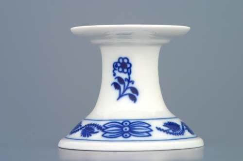 Cibulák svícen 1991/1 bez ouška 6 cm originální cibulákový porcelán Dubí, cibulový vzor,