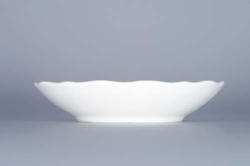 Cibulák podšálek zrcadlový ZA/1, 13 cm originální cibulákový porcelán Dubí, cibulový vzor,