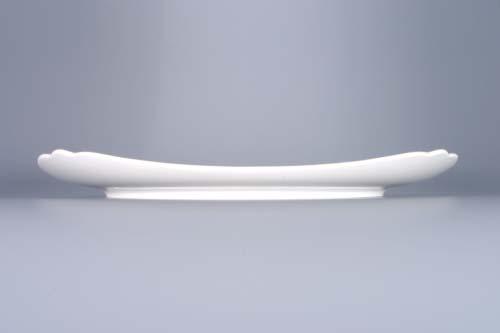 Cibulák talíř hranatý 29 cm originální cibulákový porcelán Dubí, cibulový vzor,