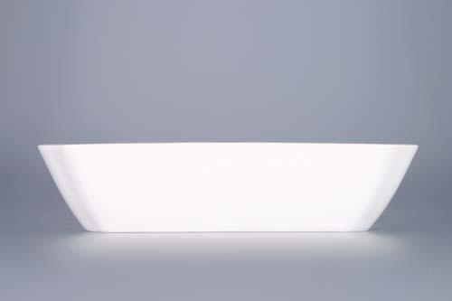 Cibulák mísa salátová čtyřhranná 15 cm originální cibulákový porcelán Dubí, cibulový vzor,