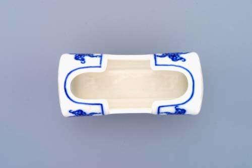 Cibulák Dóza na párátka 8 cm originální cibulákový porcelán Dubí, cibulový vzor,