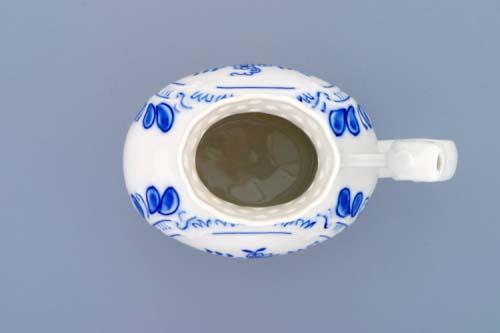 Cibulák pohárek lázeňský prolamovaný 12 cm originální cibulákový porcelán Dubí, cibulový vzor,