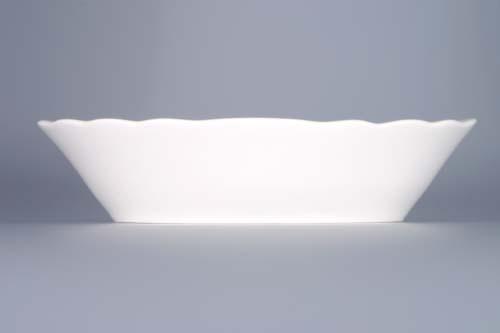 Cibulák miska raviere oválná 18 cm originální cibulákový porcelán Dubí, cibulový vzor,