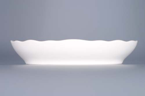 Cibulák mísa salátová oválná 20 cm originální cibulákový porcelán Dubí, cibulový vzor,