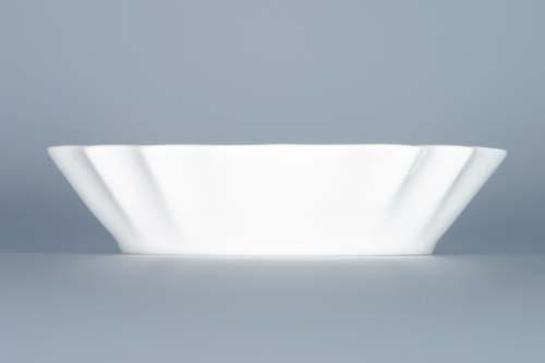 Miska porcelán bílý na cukr 13 cm Český porcelán Dubí