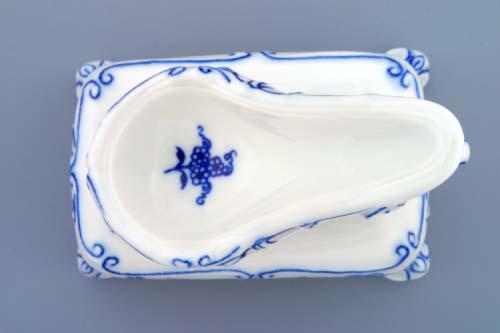 Cibulák stojánek na dýmku 11 cm originální cibulákový porcelán Dubí, cibulový vzor,