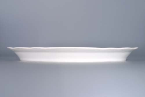 talíř oválný 34,7 cm 10483 cibulák český porcelán Dubí