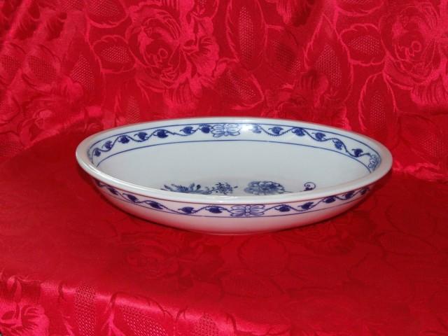 mísa zapékací oválná cibulák 32,5 cm český porcelán Dubí