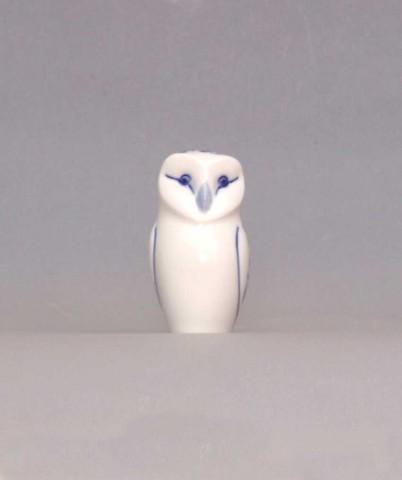 Cibulák Sovička 7,6 cm originální cibulákový porcelán Dubí, cibulový vzor,