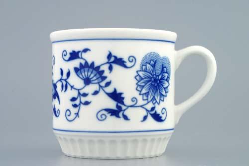 Cibulák Hrnek Leo bez nápisu 0,30 l originální cibulákový porcelán Dubí, cibulový vzor