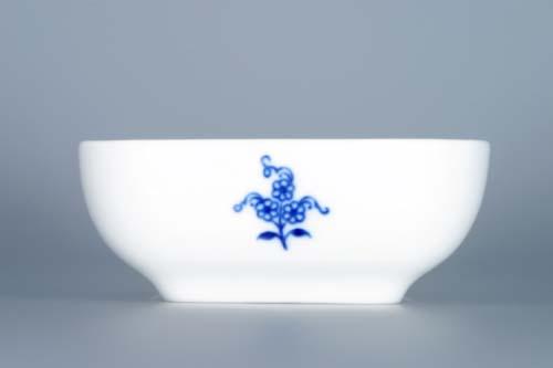 Cibulák miska AERO malá 9,5 cm originální cibulákový porcelán Dubí, cibulový vzor 1. jakost