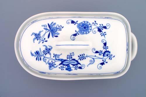 Cibulák Pekáč velký 2,4 l originální cibulákový porcelán Dubí, cibulový vzor,