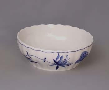 Cibulák Mísa válcová 24 cm originální cibulákový porcelán Dubí, cibulový vzor