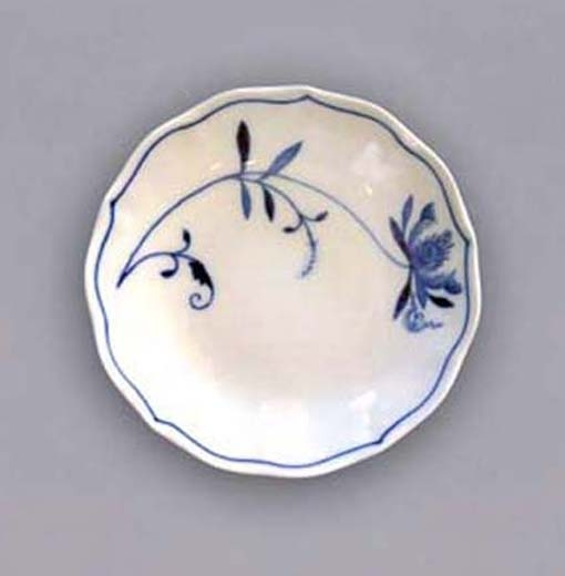 Podšálek B, 14 cm, ECO cibulák, cibulový porcelán Dubí