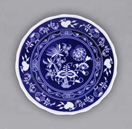 Talíř závěsný dezertní 19 cm NEGA cibulák, cibulový porcelán Dubí