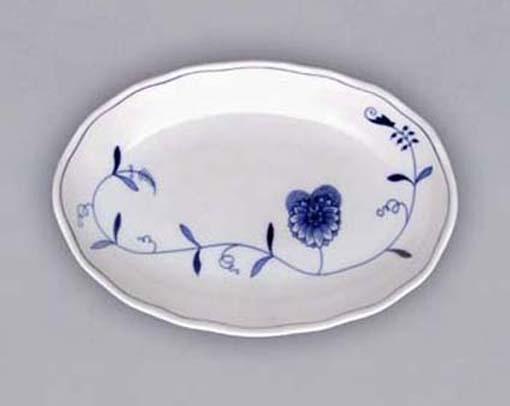 Mísa salátová oválná 23 cm ECO cibulák, cibulový porcelán Dubí
