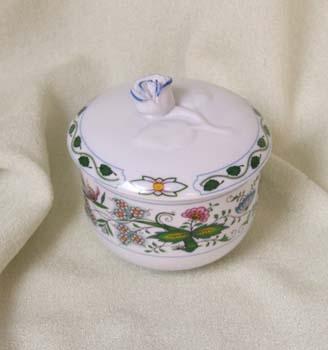 Cukřenka bez oušek s víčkem bez výřezu 0,20 l NATURE barevný cibulák, cibulový porcelán Dubí