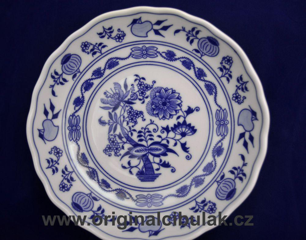 Cibulák mísa kompotová 20 cm originální cibulákový porcelán Dubí, cibulový vzor,