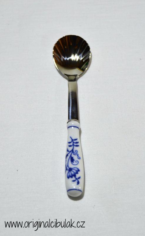 Cibulák lžička na cukr, 15 cm / balení 1 ks karton originální cibulák -cibulákové příbory