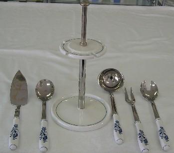 Cibulák stojan na stolní soupravu, 30 cm, originální cibulák