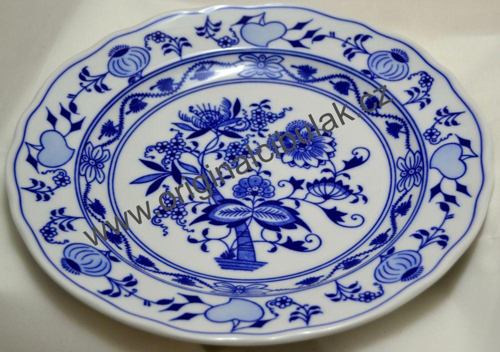 talíř originální cibulák z Dubi