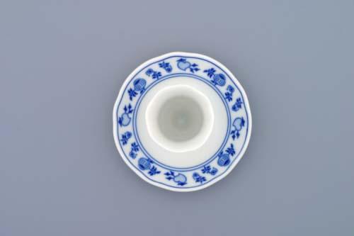 Cibulák kalíšek na vejce s podstavcem 10 cm originální český porcelán Dubí