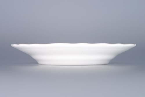 Talíř porcelán bílý dezertní 17 cm Český porcelán Dubí