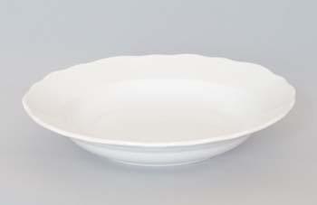 Mísa porcelán bílý kulatá hluboká 28 cm Český porcelán Dubí