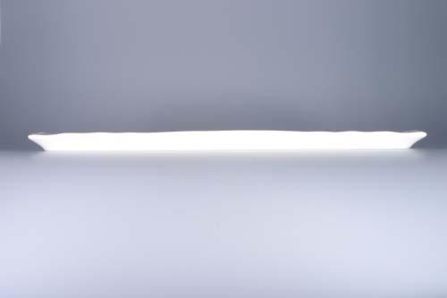 Podnos porcelán bílý čtyřhranný 45 cm Český porcelán Dubí
