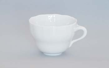 Šálek porcelán bílý vysoký A/1 , 0,12l Český porcelán Dubí