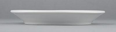 Podšálek porcelánový bílý Hotelový pod hrnek 14,5cm Český porcelán Bohemia 1.jakost