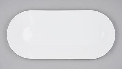Mísa porcelánová bílá Hotelová oválná 30,5cm Český porcelán Bohemia 1.jakost