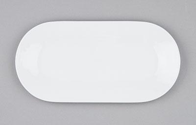 Mísa porcelánová bílá Hotelová oválná 41cm Český porcelán Bohemia