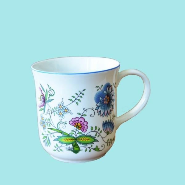 Hrnek Golem 1,50 l, NATURE barevný, cibulový porcelán Dubí