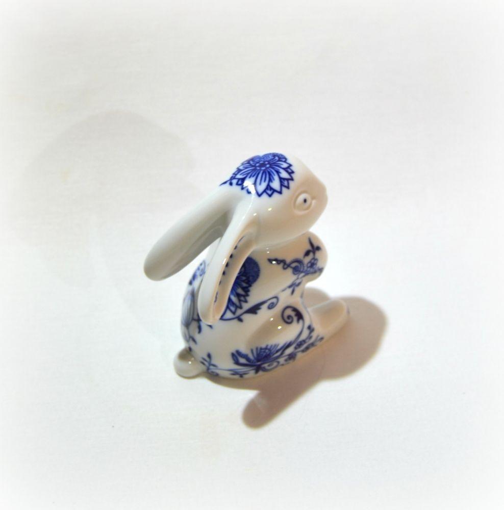 cibulák zajíc č. 2 Leander cibulákový porcelán