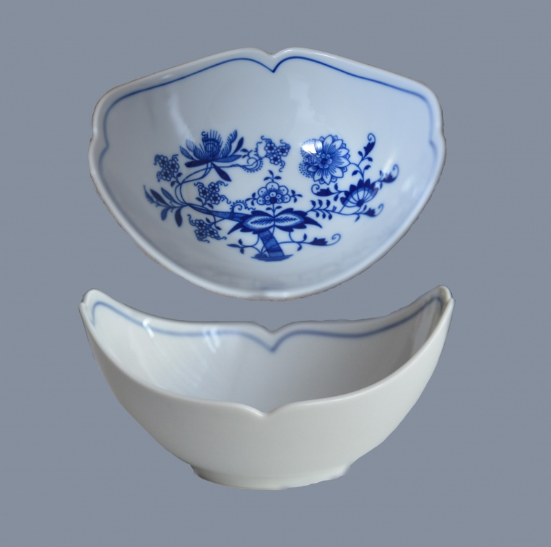 Cibulák mísa na ovoce Český porcelán Dubí , cibulákový porcelán,