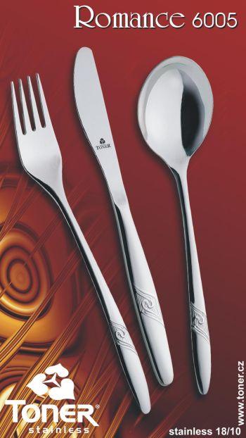 příbory jídelní Romance 6 osob 24 ks Toner nerez DBS