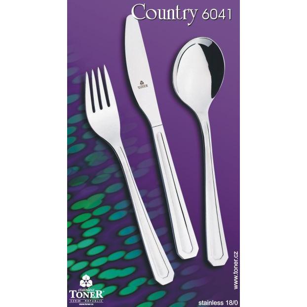 nůž jídelní TONER Country 1 ks nerez 6041
