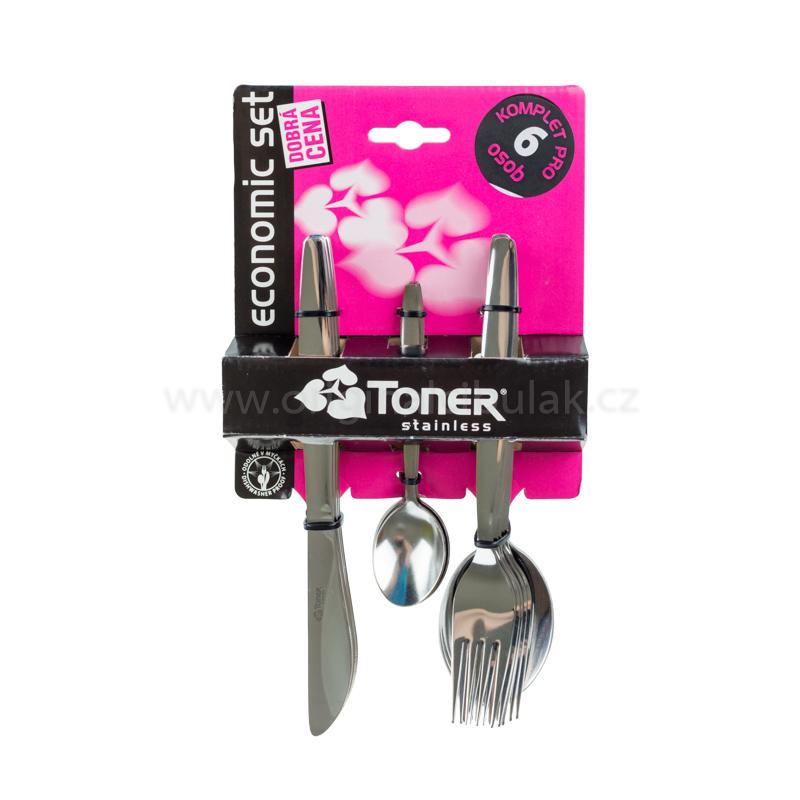 Nůž jídelní TONER Praktik 1 ks nerez 6040