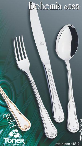 Nůž jídelní TONER Bohemia 1 ks nerez 6085