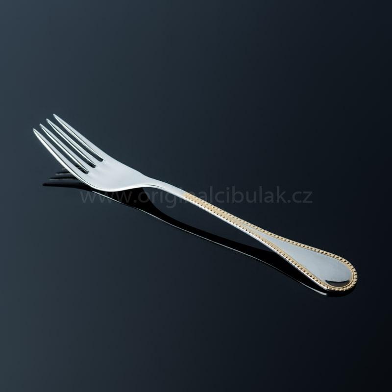 Nůž jídelní TONER Koral Gold zlacený 1 ks nerez 6038