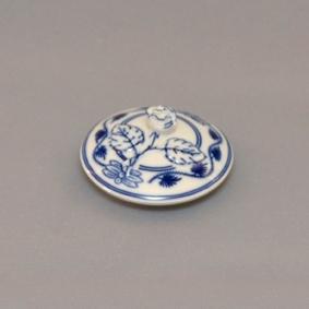 Víčko k cibulákové konvici na čokoládu originální cibulákový porcelán Dubí, cibulový vzor
