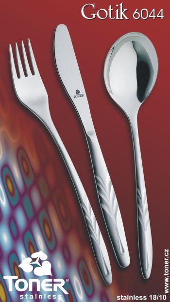 Vidlička jídelní Toner Gotik 1 ks nerez 6044