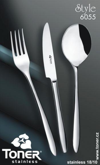 Vidlička jídelní Style Toner 1 ks nerez 6055