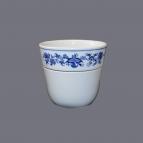 Cibulák květináč Krasko 14,5 cm originální cibulákový porcelán Dubí, cibulový vzor,
