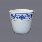 Cibulák květináč Krasko 16 cm originální cibulákový porcelán Dubí, cibulový vzor,