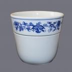 Cibulák květináč Krasko 18,5 cm originální cibulákový porcelán Dubí, cibulový vzor,