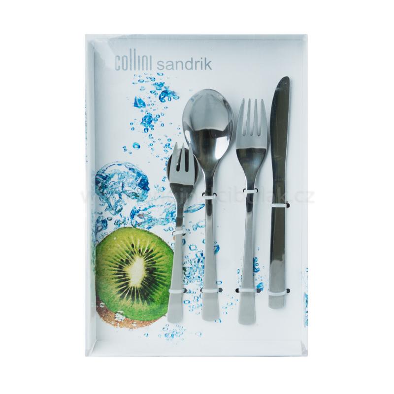 Vidlička jídelní EGO Berndorf Sandrik příbory nerez ocel 1 ks