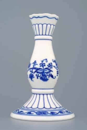 svícen cibulák 1969 16 cm originální český porcelán Dubí