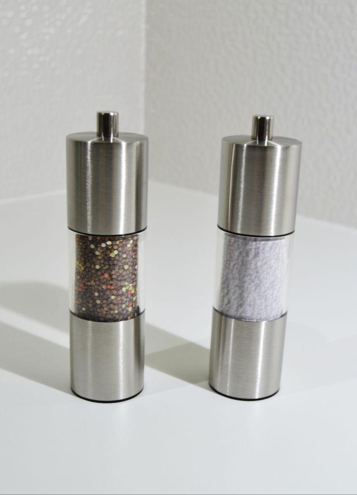 mlýnek na sůl a pepř koření sada 2 ks